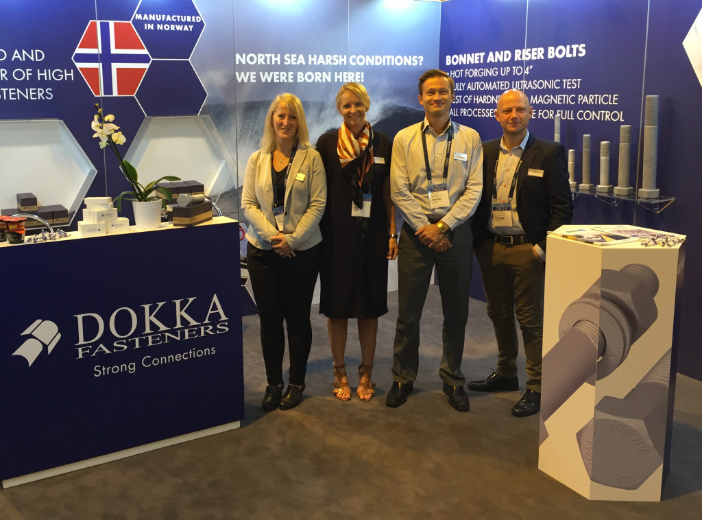 Dokka Fasteners stand ONS 2016